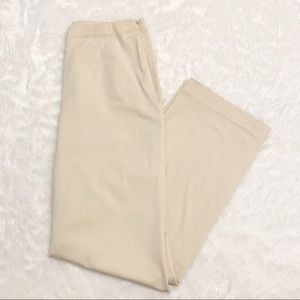 Nwot Eddie Bauer High Waisted Twill Trousers